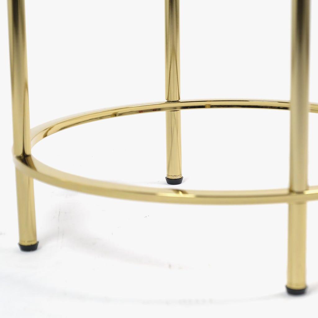 Mesa de apoio Mármore PretoD:50x78 cm