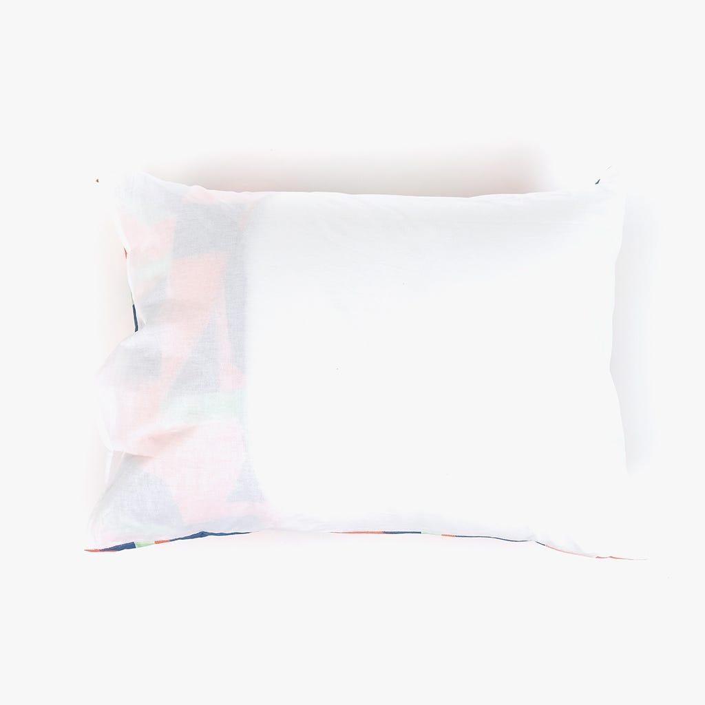 1 Saco de Edredão + 1 Fronha Geométrico 140x200 cm