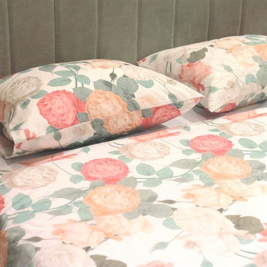 1 Saco de Edredão + 2 Fronhas Rose Dream 240x220 cm