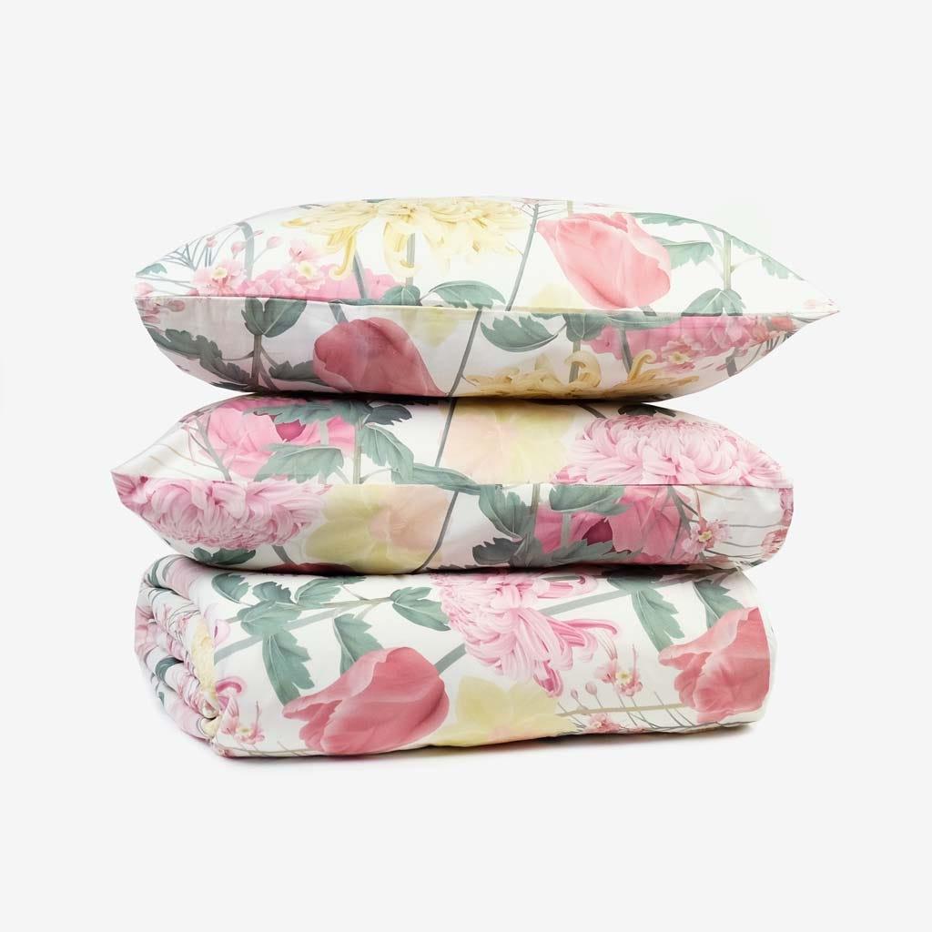 1 Saco de Edredão + 2 Fronhas Flower Dream 240x220 cm