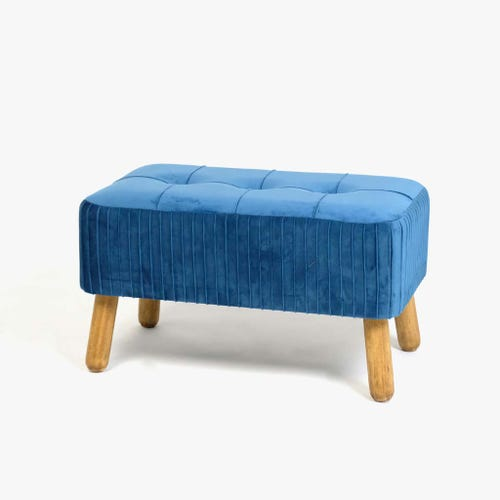Banqueta Azul60x34x33 cm