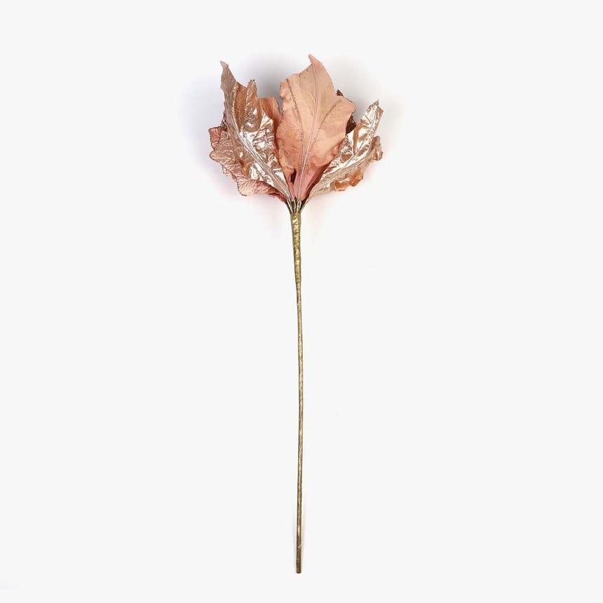 Poinsettia Rosa 52 cm