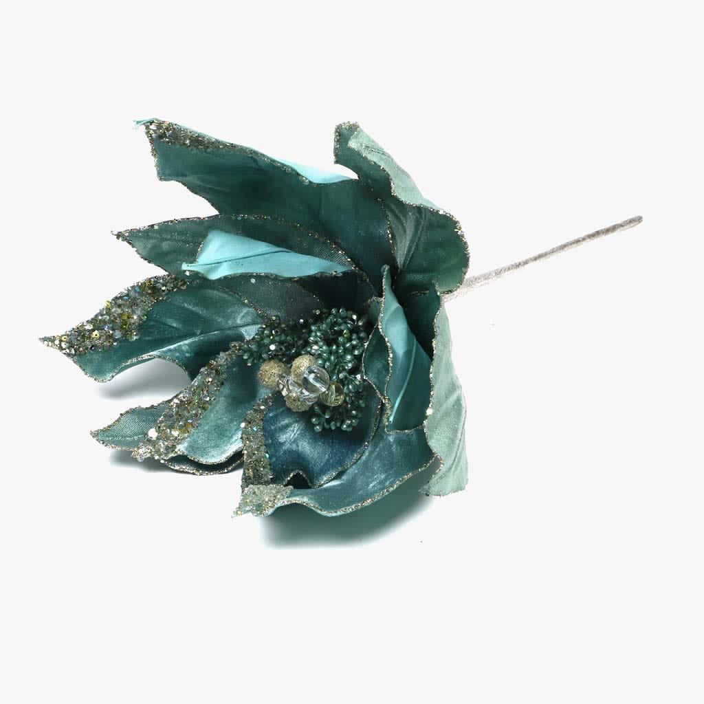 Poinsettia Azul 31 cm