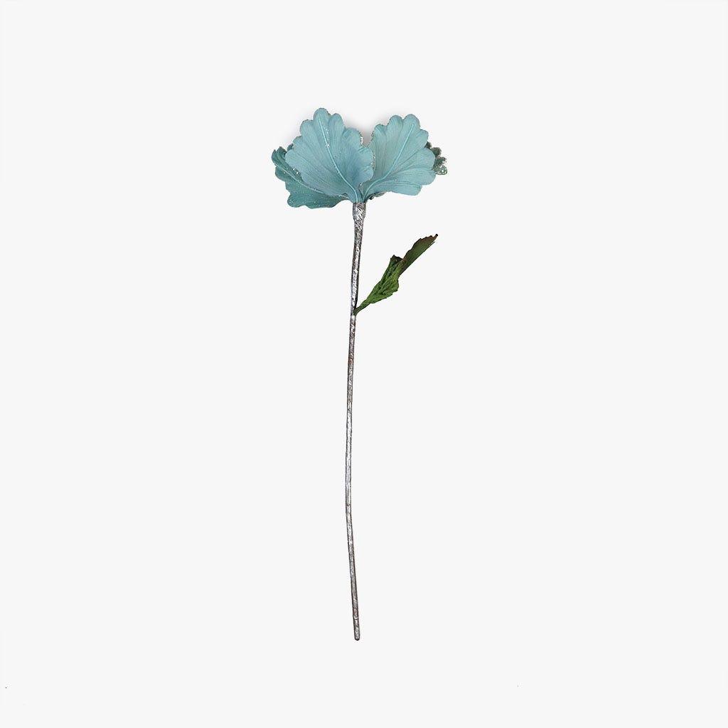 Ramo Hibiscus Azul 45 cm