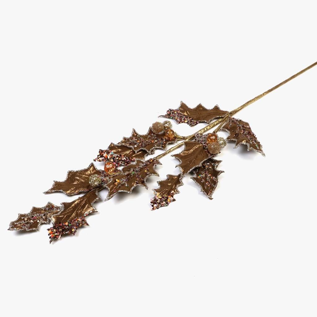 Ramo Azevinho Dourado 72 cm