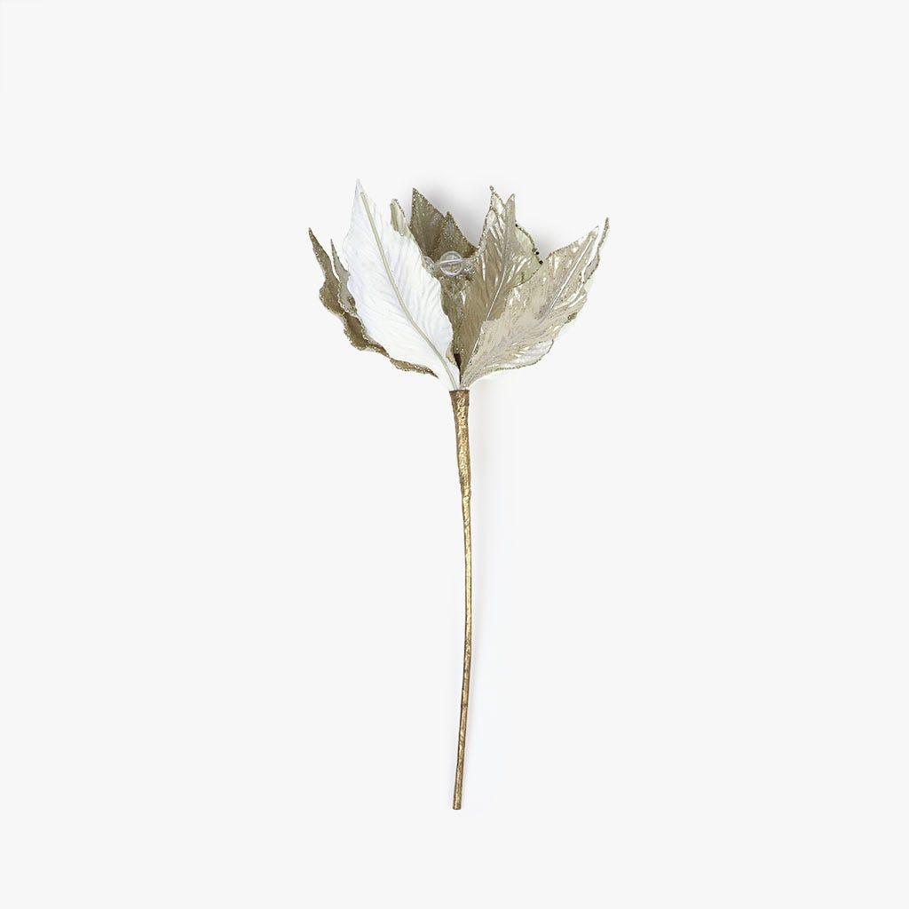 Poinsettia Bege 31 cm