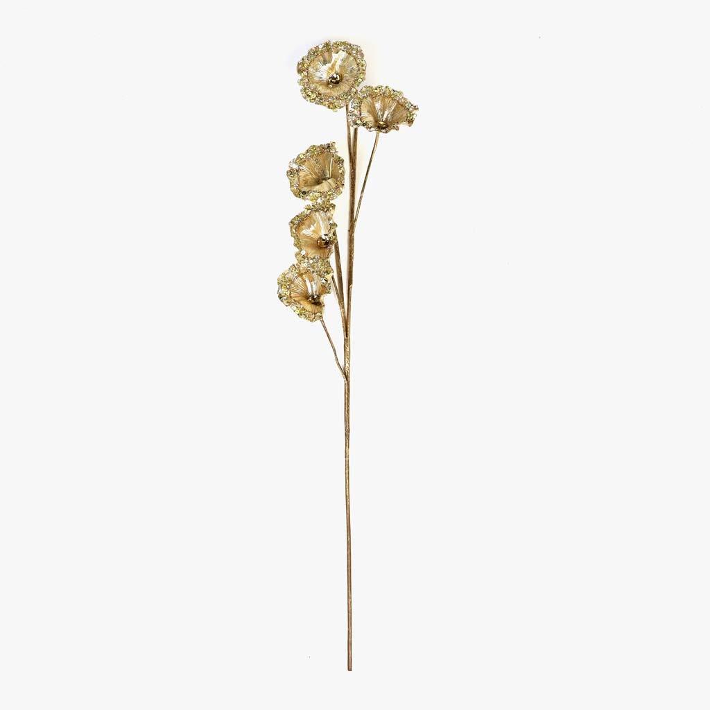 Ramo Ginkgo Gold 81 cm