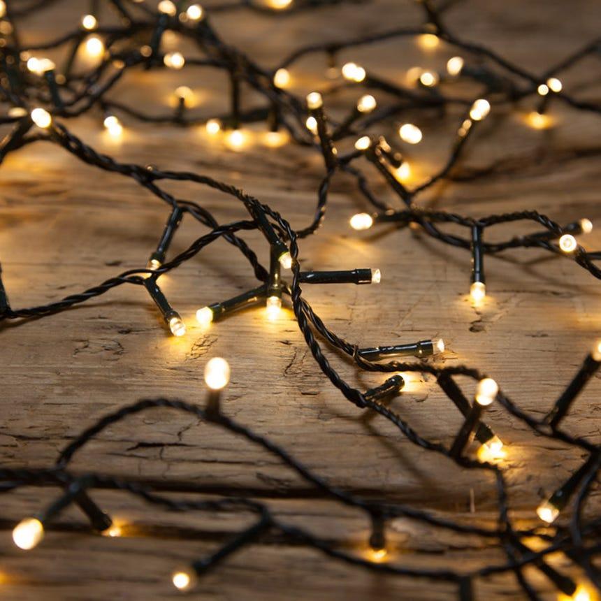 Luzes de Natal 200 LED com 8 Funções de Luz