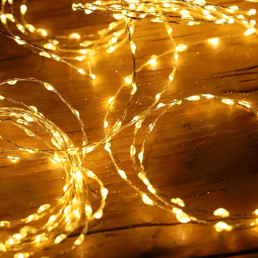 Luzes de Natal 1,9 m 80 LED