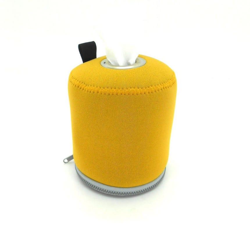 Suporte Rolo WC Amarelo