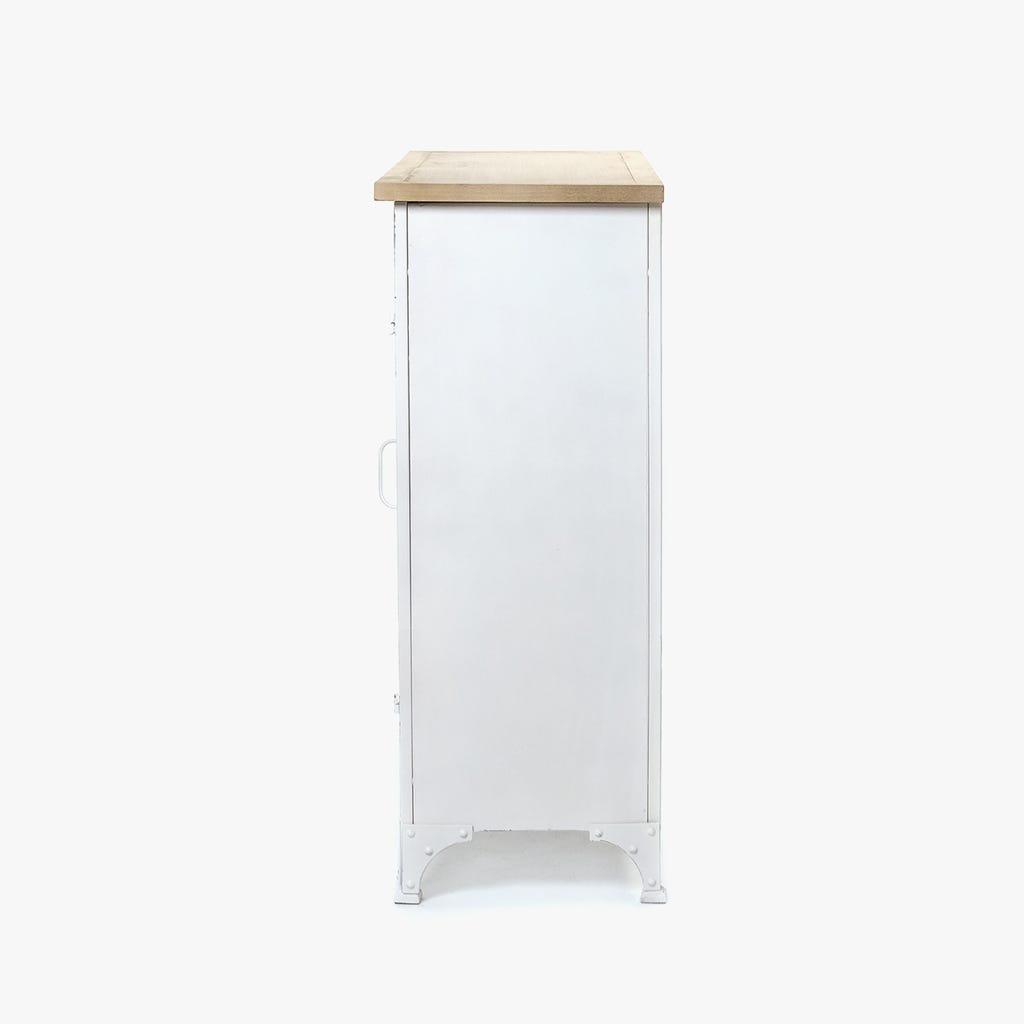 Móvel com 3 cacifos branco 91x36x93 cm