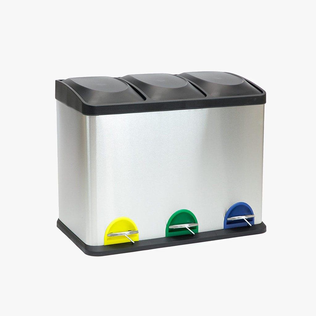 Caixote Lixo Reciclagem 3x15Lt