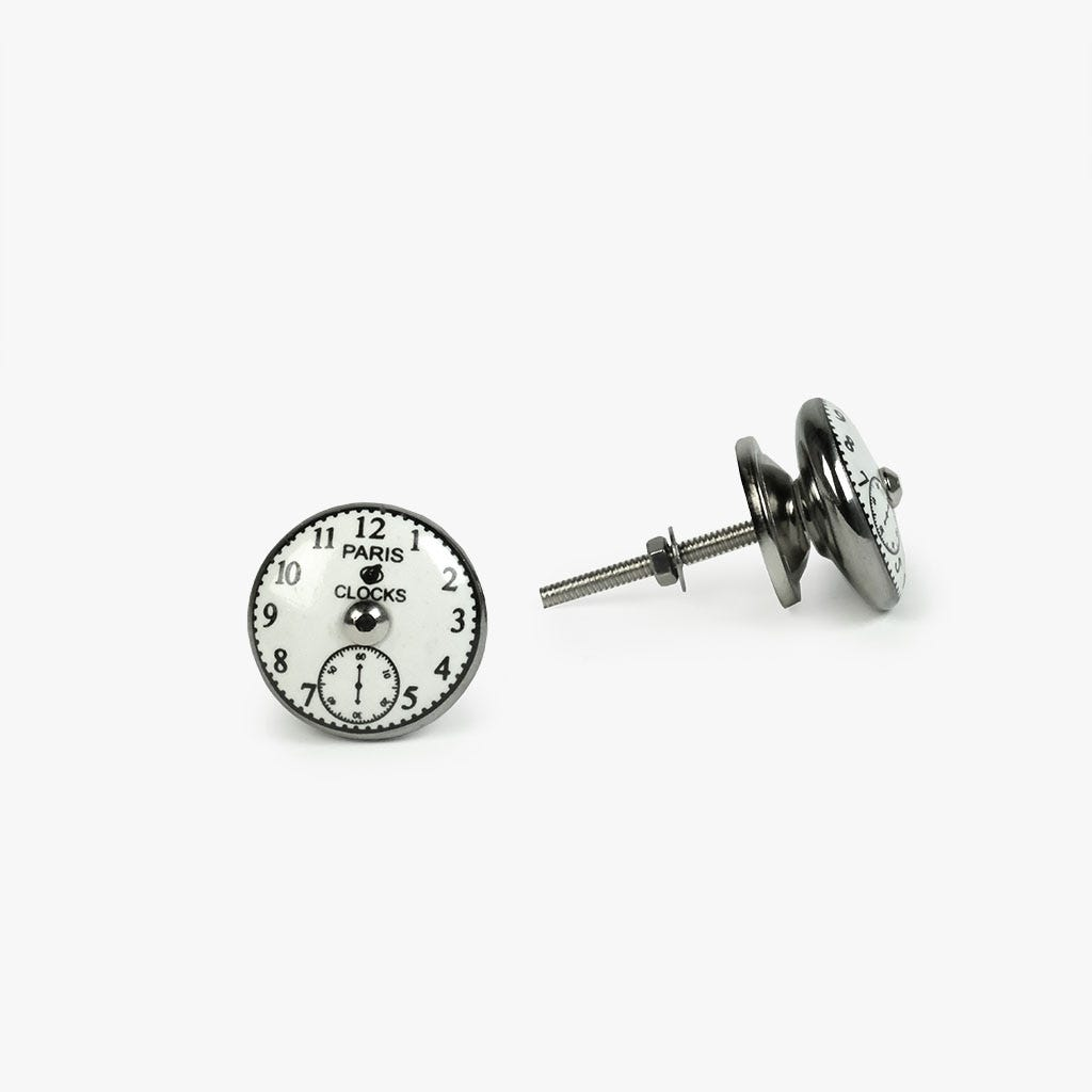Puxador de Gaveta Relógio Paris (conjunto2)