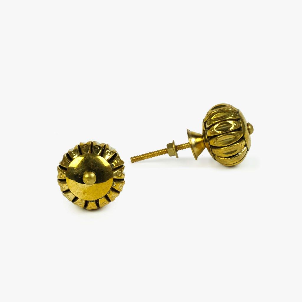 Puxador de Gaveta Metal Dourado (conjunto2)