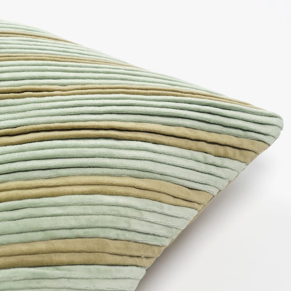 Capa de Almofada Pregas Azul 45x45 cm