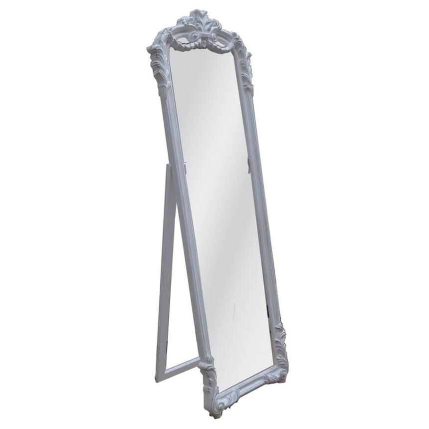 Espelho de Chão Cinza 57x181 cm