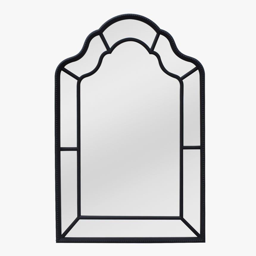 Espelho Janela Preto 130x85 cm