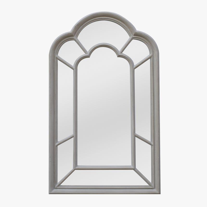 Espelho Janela Cinza 140x85 cm