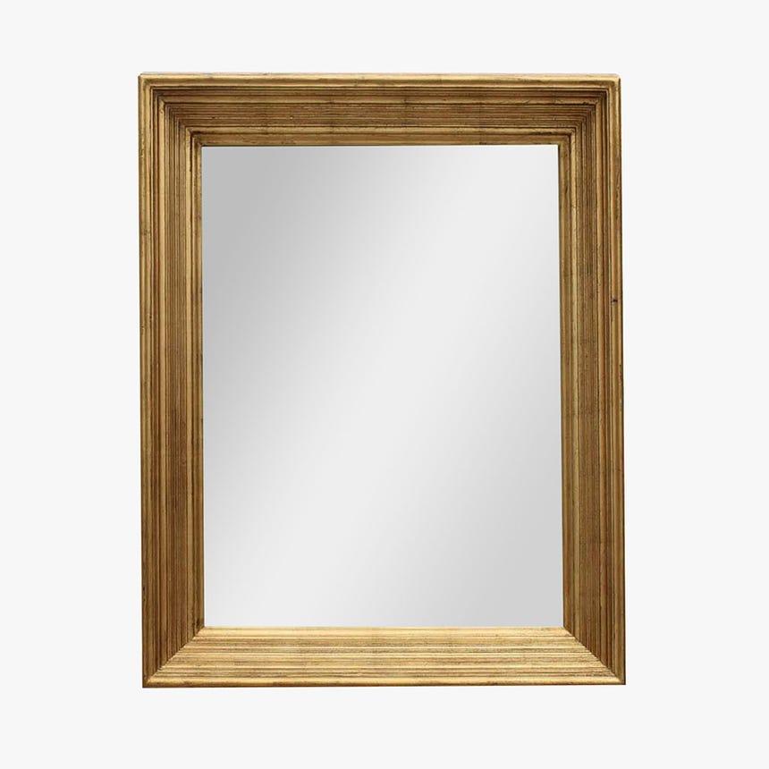 Espelho Liso Dourado 78x98 cm