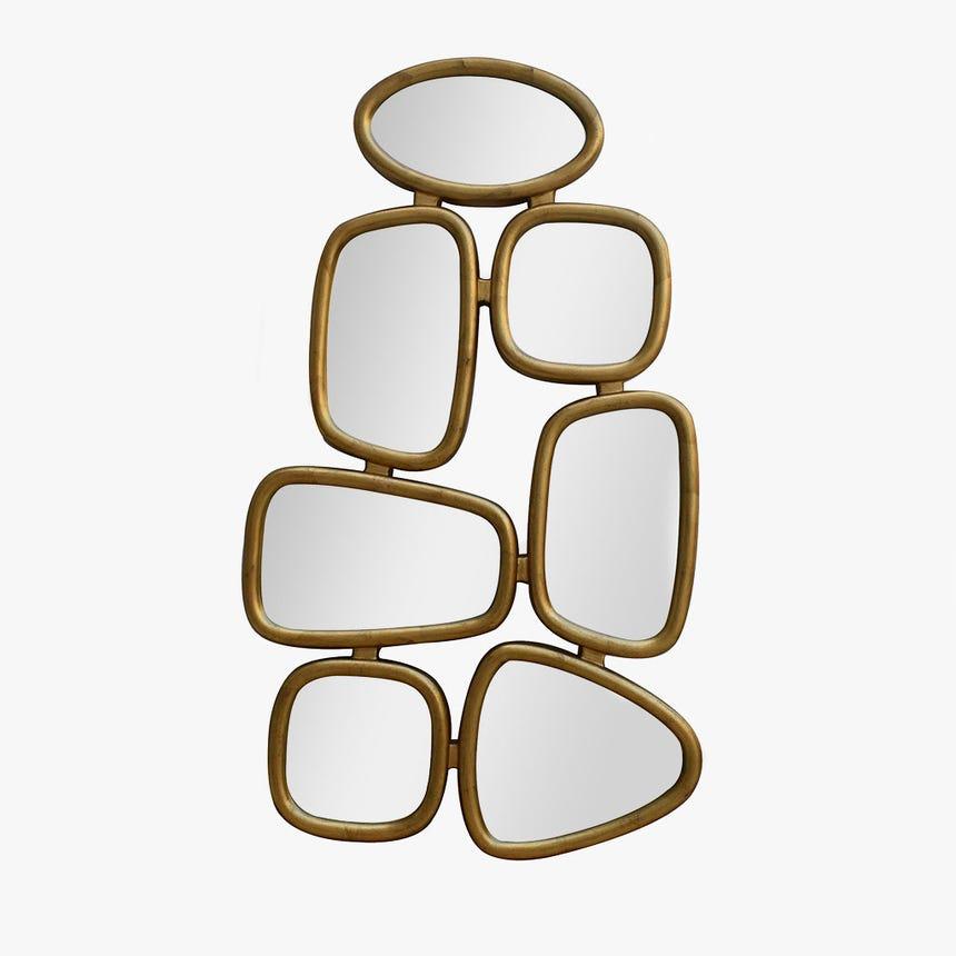 Espelho Dourado 70x120 cm