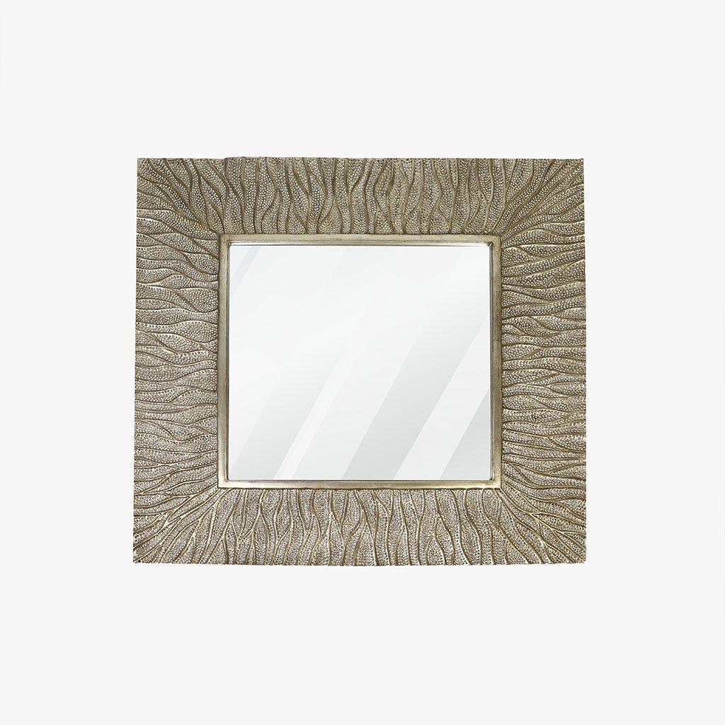 Espelho Antique Silver 100x100 cm
