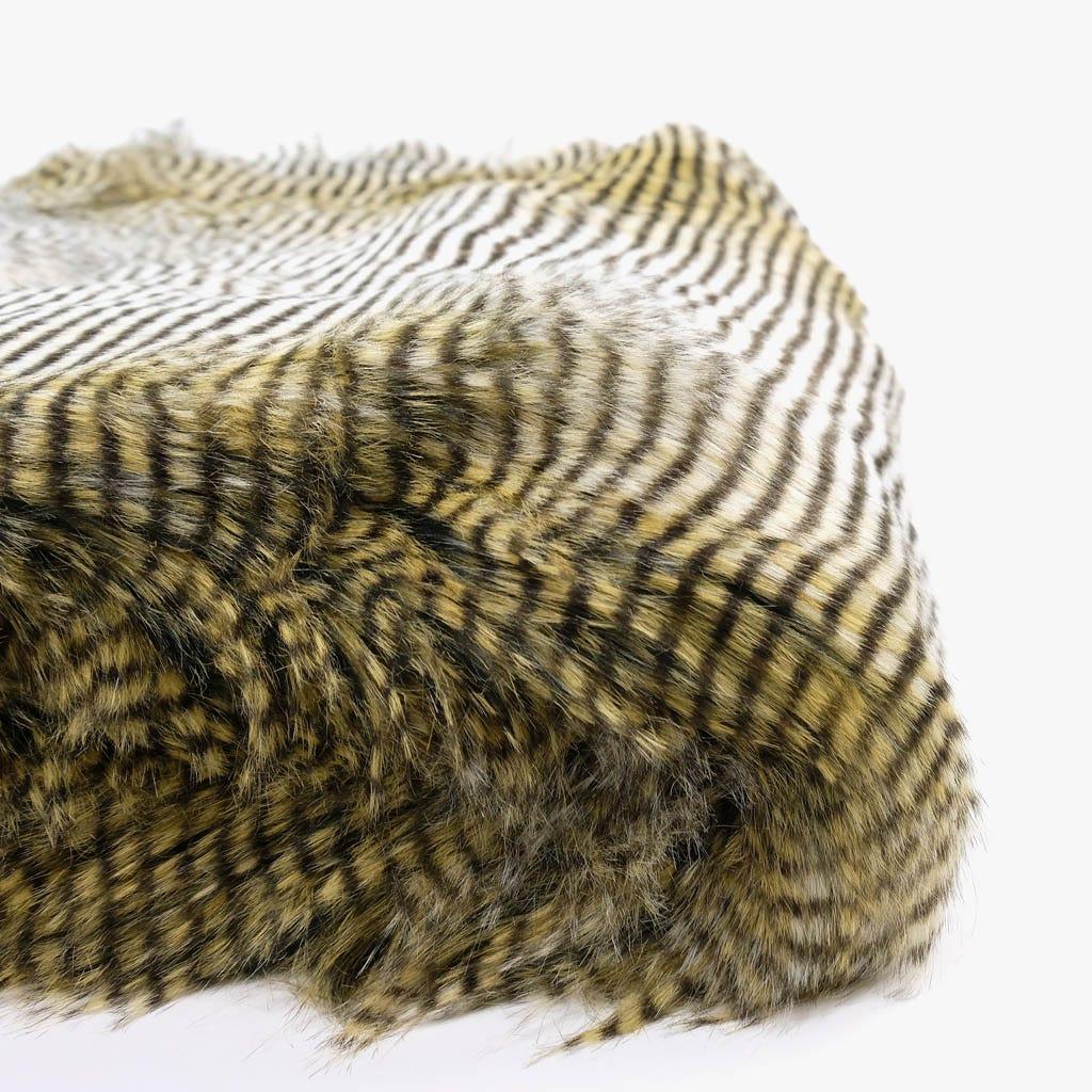 Manta Riscas Pelo 145x170 cm