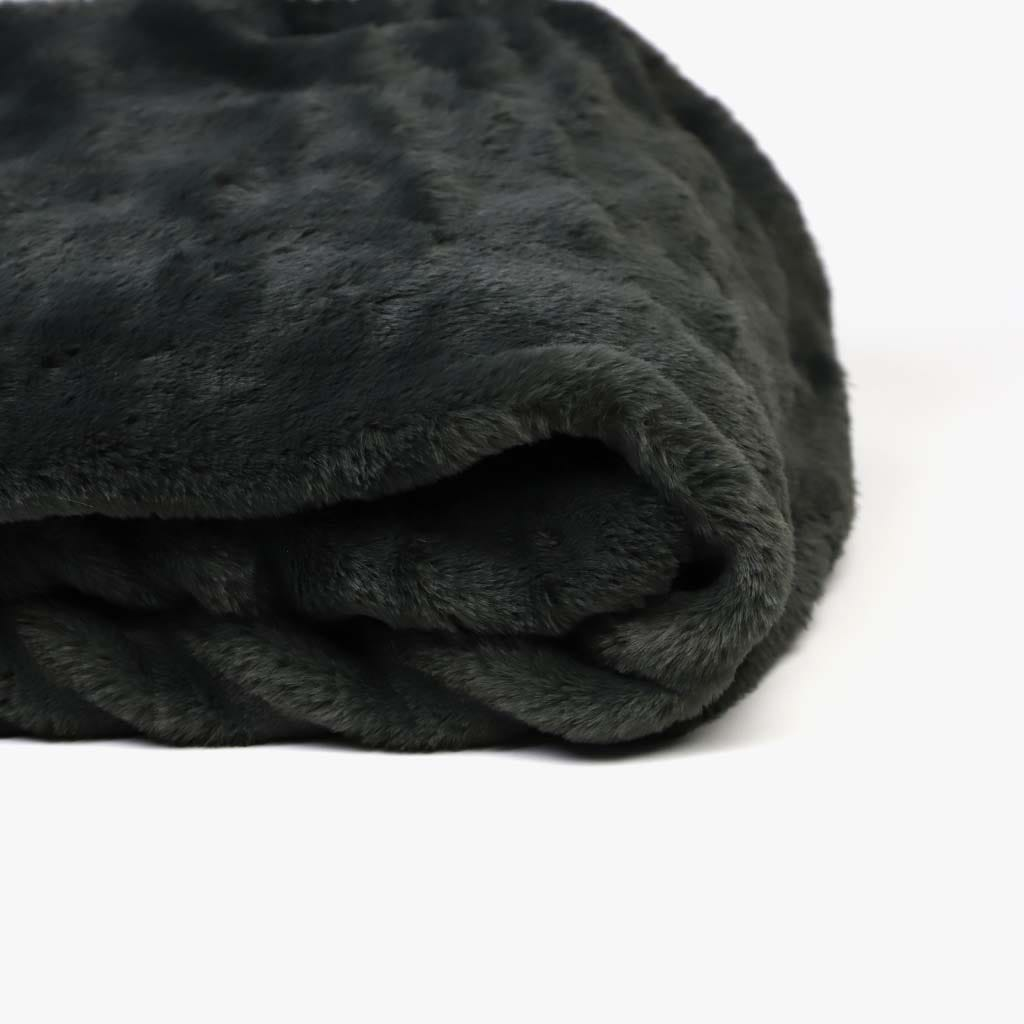Manta Pelo Cinzento 145x170 cm