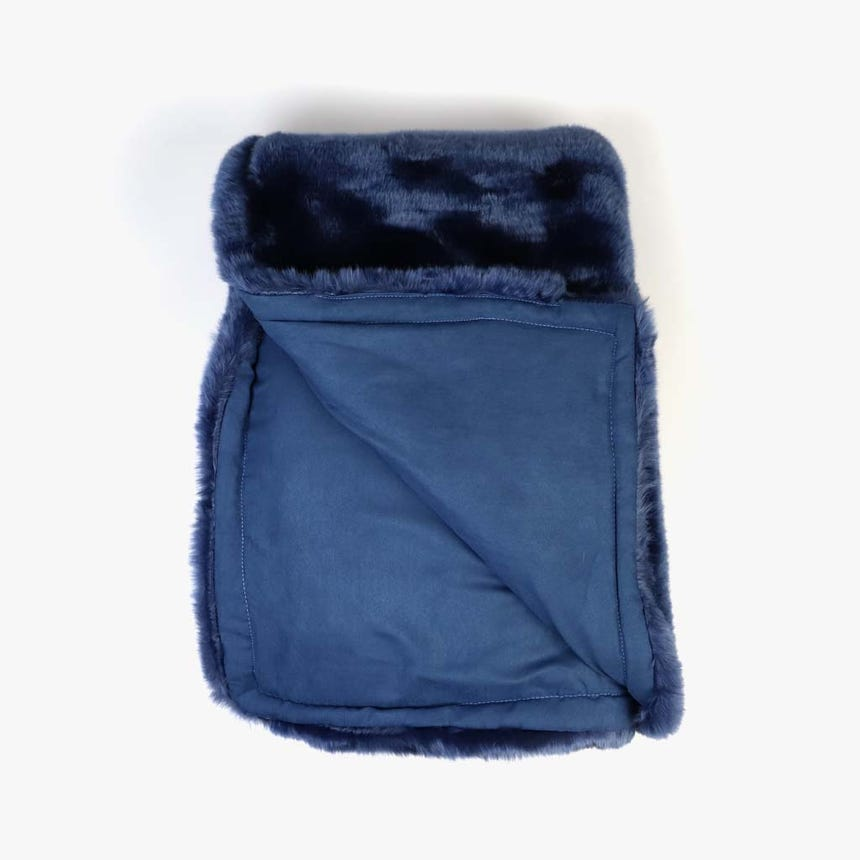 Manta Pelo Azul 145x170 cm