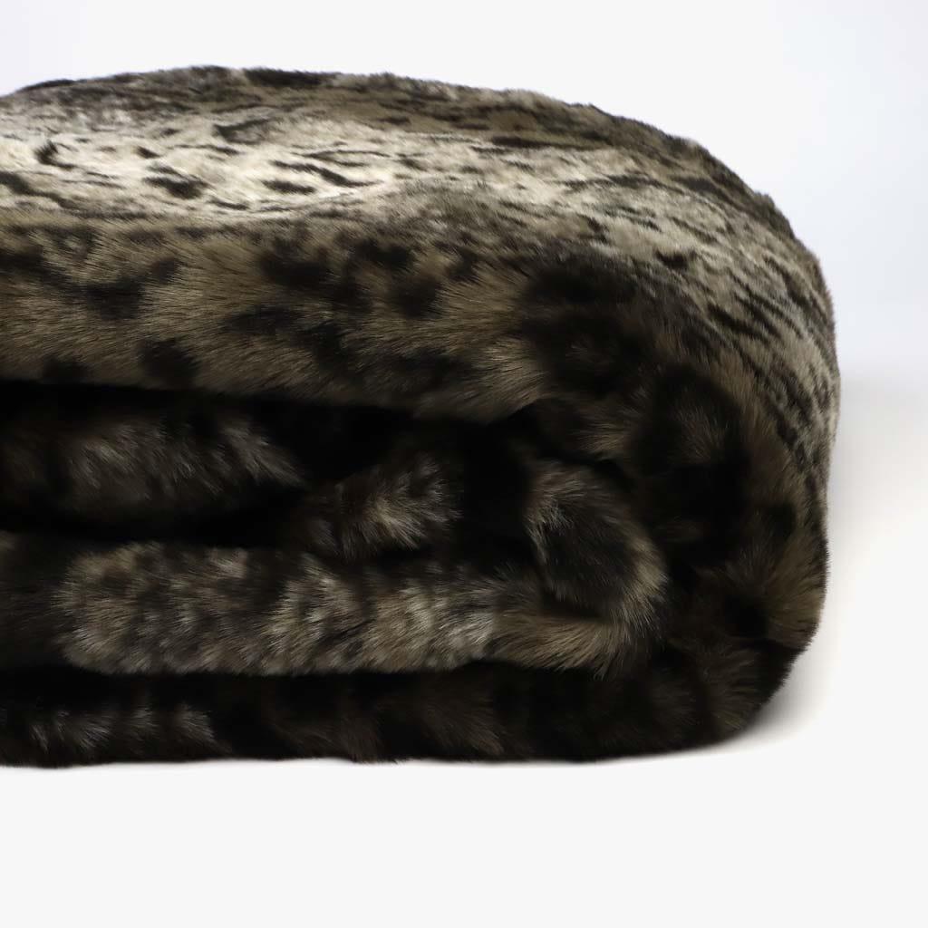Manta Leopardo Pelo 145x170 cm