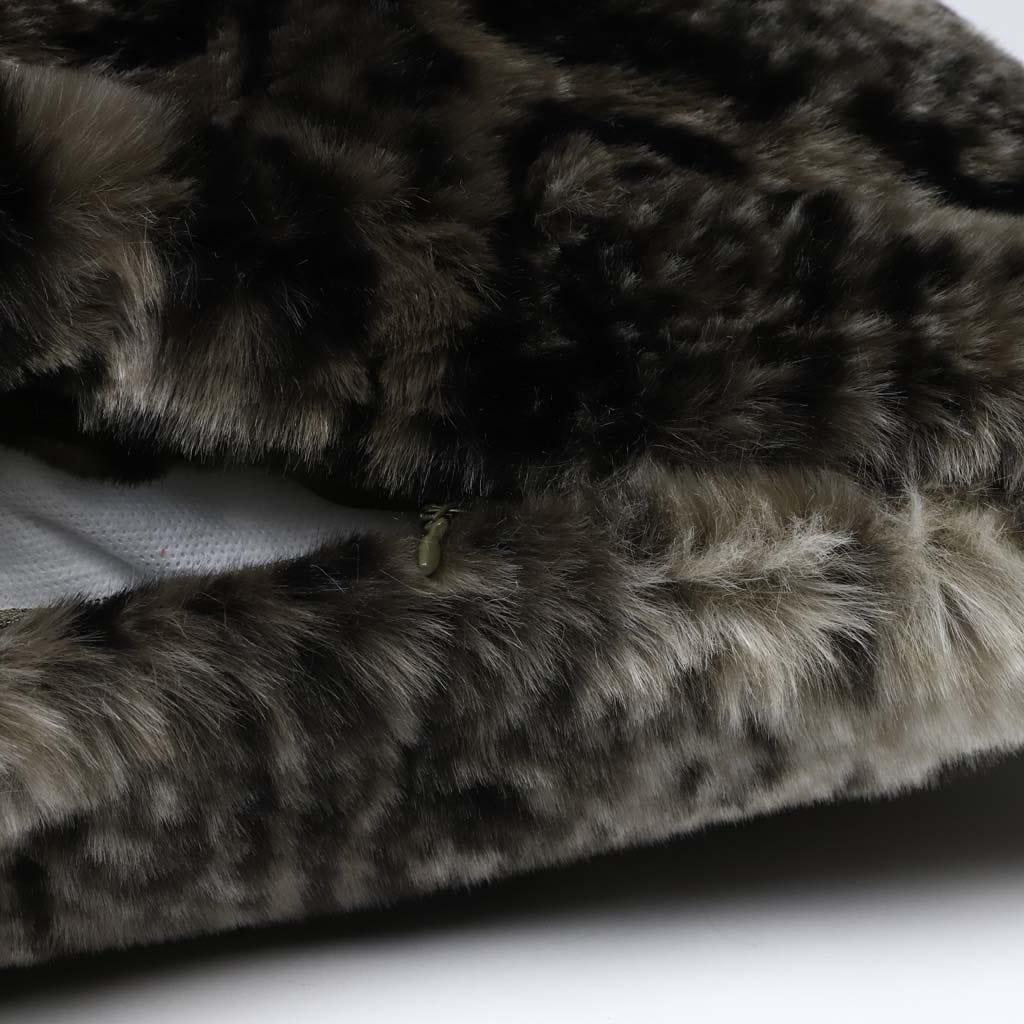Capa de Almofada Leopardo Pelo 45x45 cm