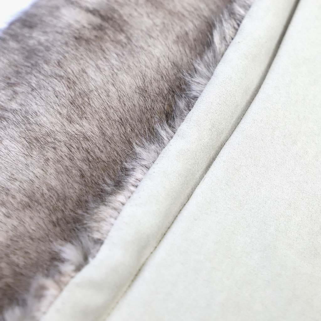 Manta Pelo Castanho 240x260 cm