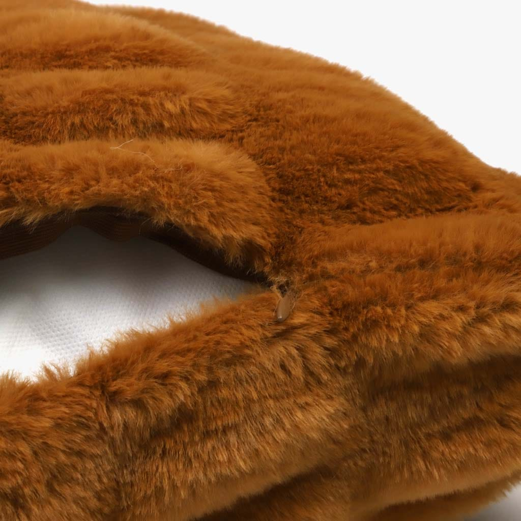 Capa de Almofada Terracota Pelo 45x45 cm