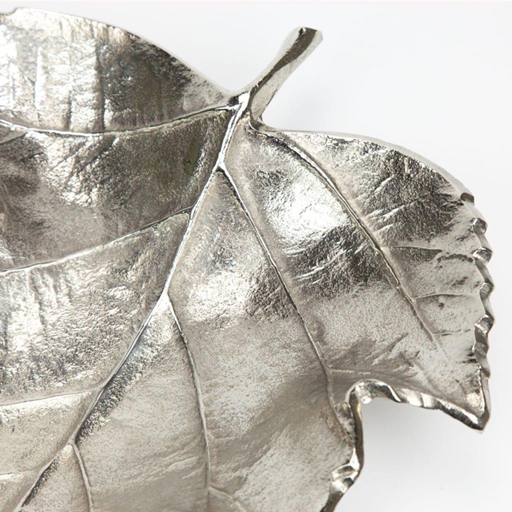 Folha Prata 43 cm