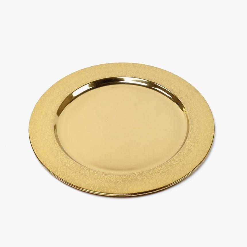 Marcador Ramagens Dourado 33 cm