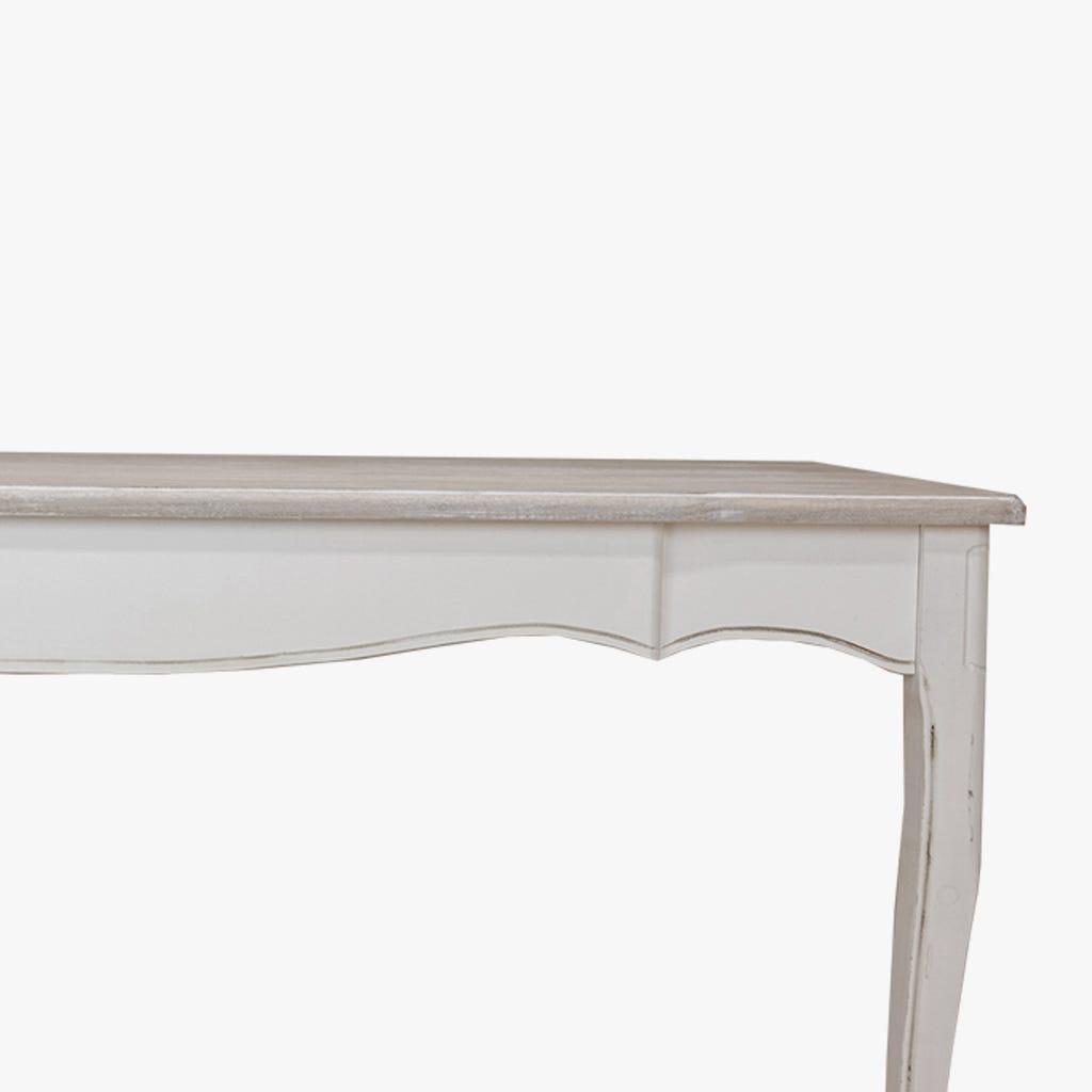 Mesa de Jantar Viena Branco 160x80x79 cm